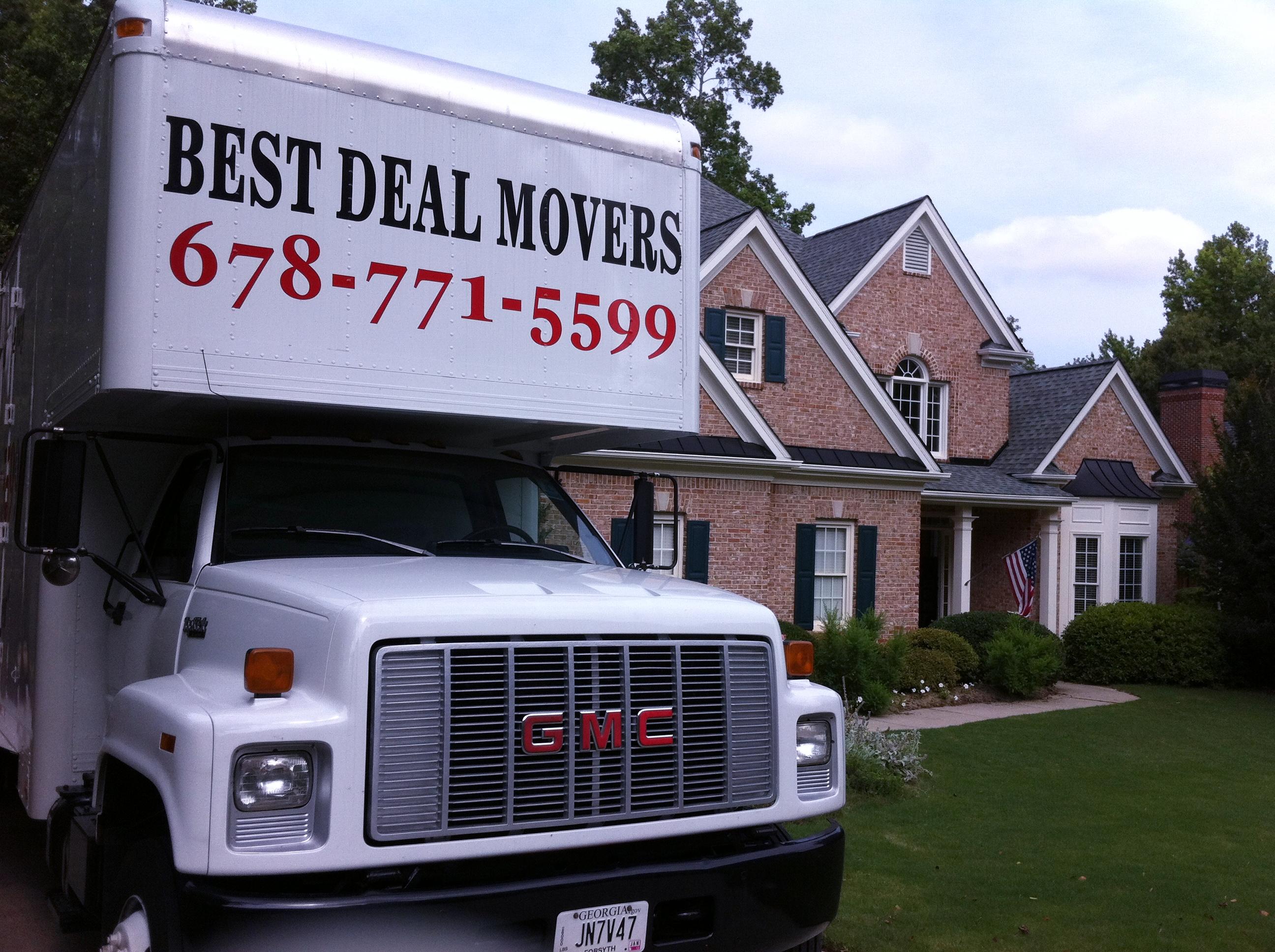 Best Deal Movers, LLC reviews | Movers at 3615 Francis Circle - Alpharetta GA