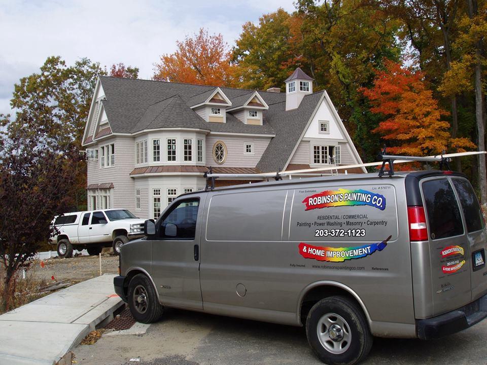 Robinson's Painting & Home Improvements, LLC reviews | Painters at P.O. Box 600 - Easton CT