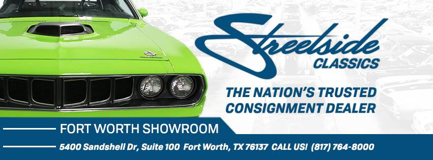 Streetside Classics - Dallas/Fort Worth Reviews, Ratings | Car Dealers near 5400 Sandshell Dr Suite 100 , Fort Worth TX