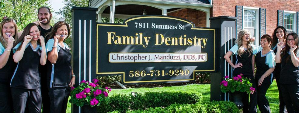 Christopher J. Manduzzi, DDS, PC reviews | Dentists at 7811 Summers St - Utica MI