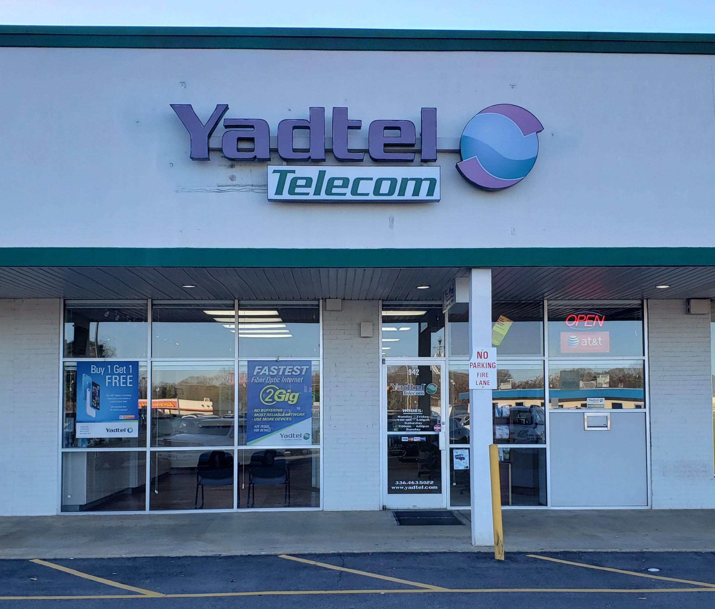Yadtel Telecom reviews   Telecommunications at Yadkinville Plaza Shopping Center - Yadkinville NC