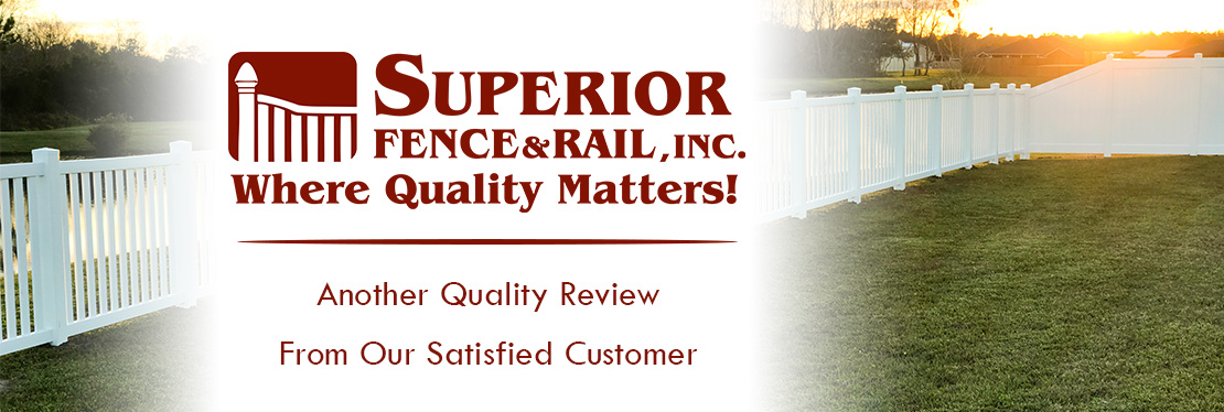 Superior Fence & Rail of Pensacola, Inc. reviews | Fences & Gates at 2906 Avalon Blvd - Milton FL