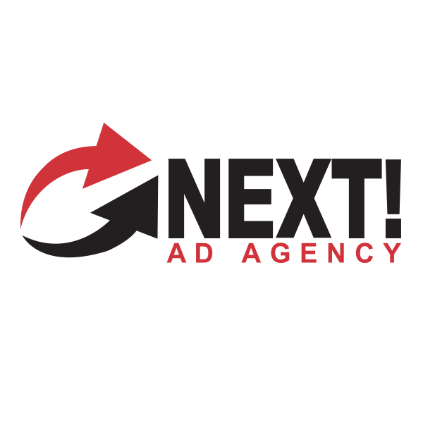 NEXT! Ad Agency logo