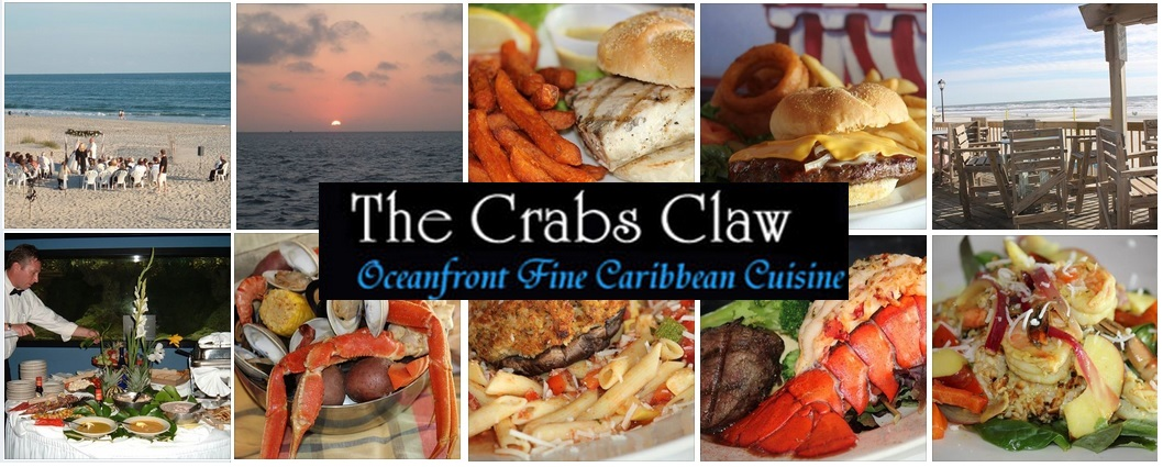 Crab's Claw Oceanfront Caribbean Restaurant - Atlantic Beach, NC