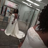 Priscilla McClinton review for David's Bridal