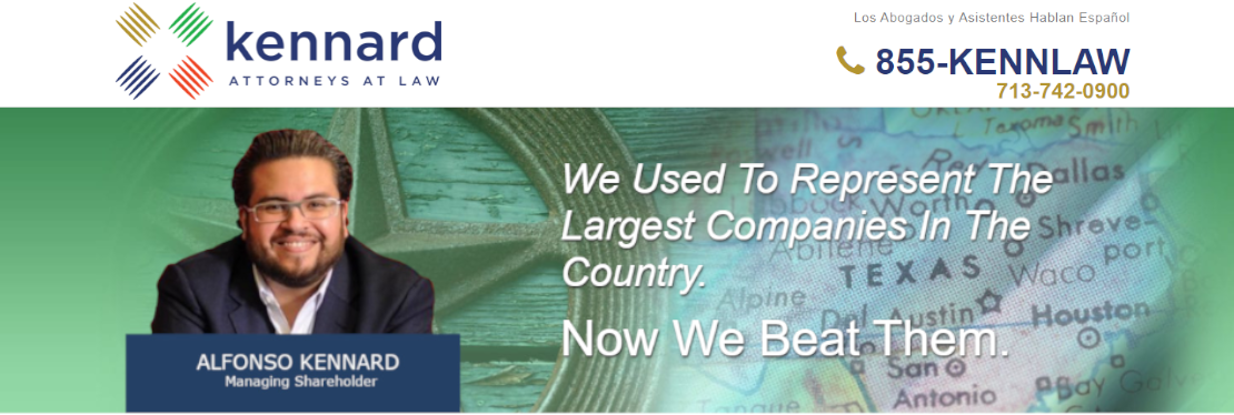 Kennard Law, P.C. reviews | Business Law at 5120 Woodway Dr - Houston TX
