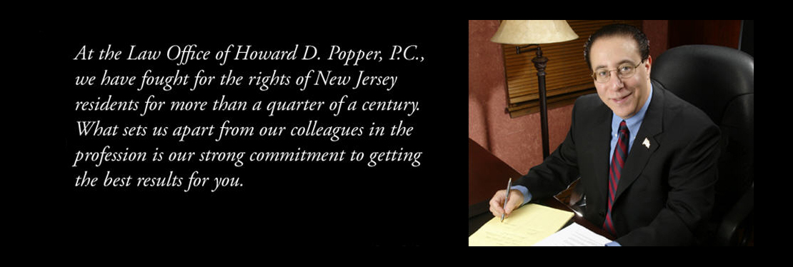 Howard D Popper, Attorney at Law Reviews, Ratings   Personal Injury Law near One Western Avenue , Morristown NJ