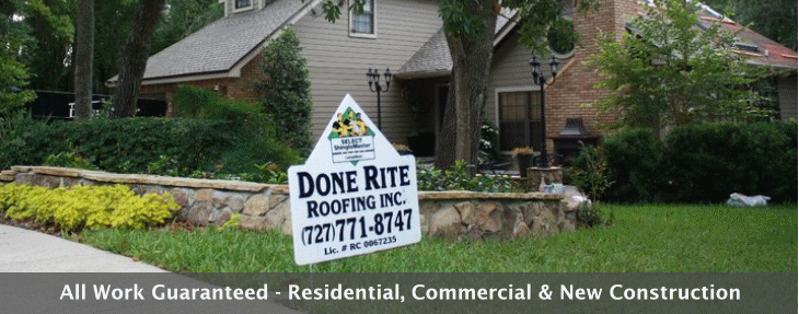 Done Rite Roofing Inc Reviews Roofing At 405 Orange St Palm Harbor Fl