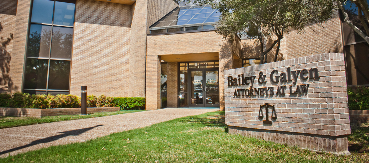 Bailey & Galyen Attorneys At Law