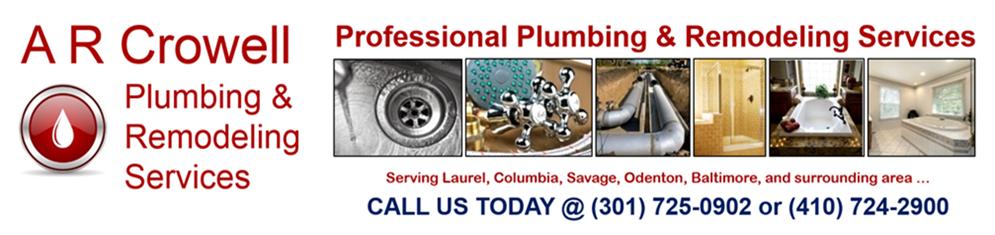 AR Crowell Plumbing LLC | Plumbing in 906 Montgomery St - Laurel MD - Reviews - Photos - Phone Number
