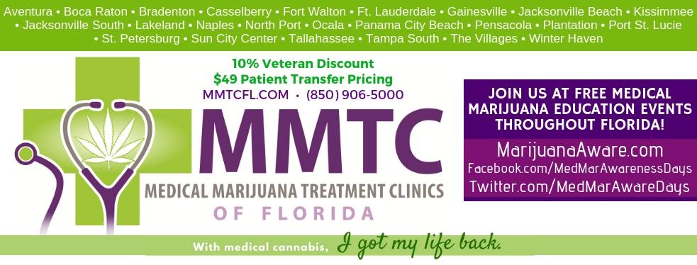 Medical Marijuana Treatment Clinics of Florida reviews | Cannabis Clinics at 5306 Cortez Rd W - Bradenton FL