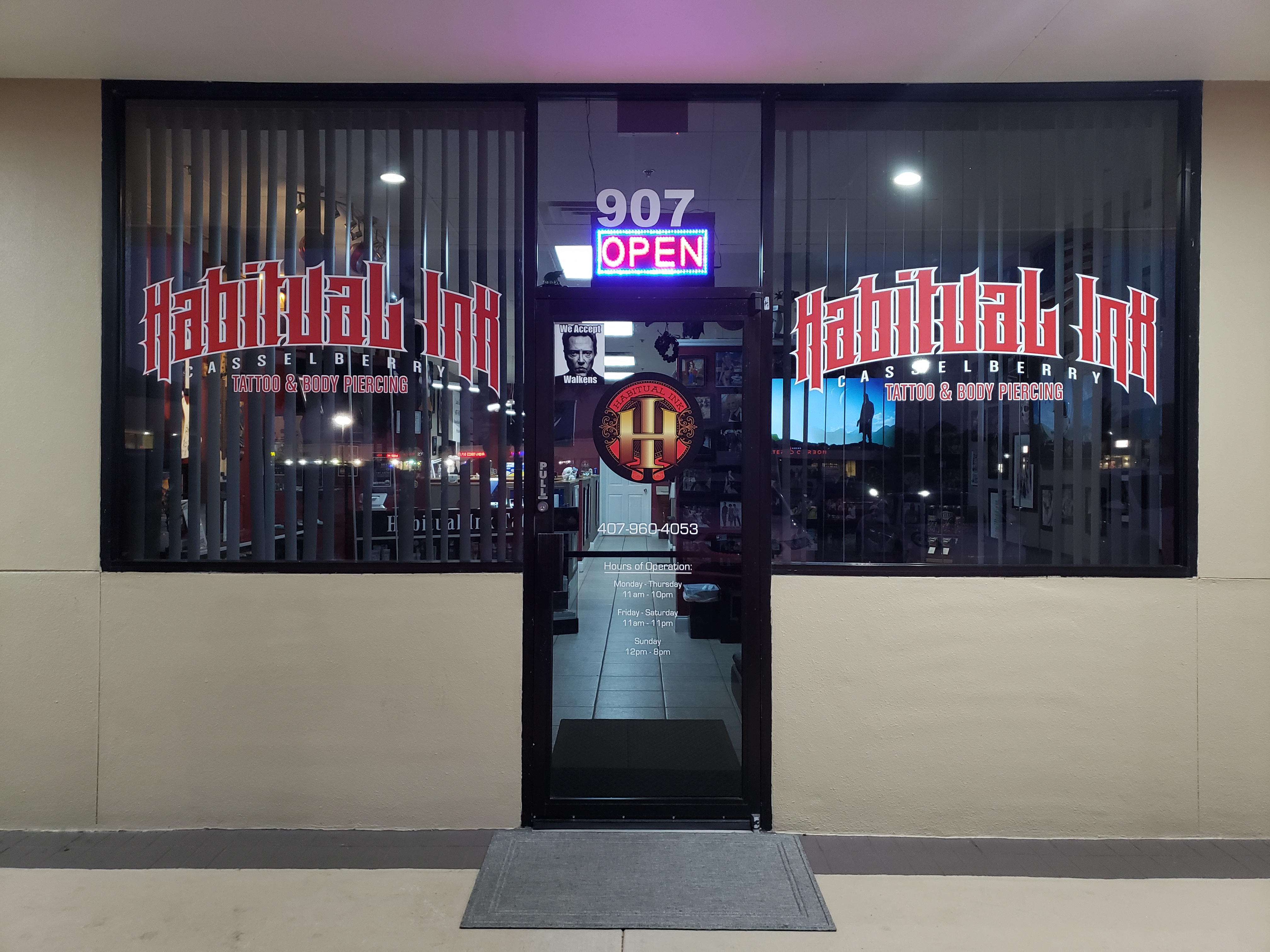 Habitual Ink Casselberry reviews | Tattoo at 907 Florida 436. (State Road 436) - Casselberry FL