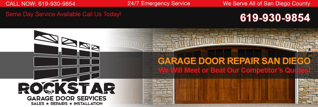 Rockstar Garage Door Services reviews | Garage Door Services at 4455 Murphy Canyon Rd - San Diego CA