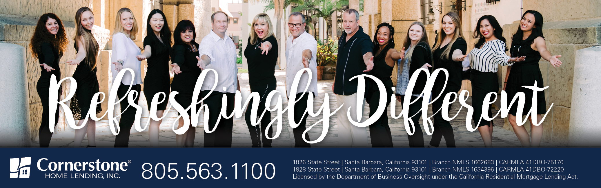 Cornerstone Home Lending, Inc. -  Mark Johnson NMLS#  451091 reviews   Mortgage Lenders at 1826 State Street - Santa Barbara CA