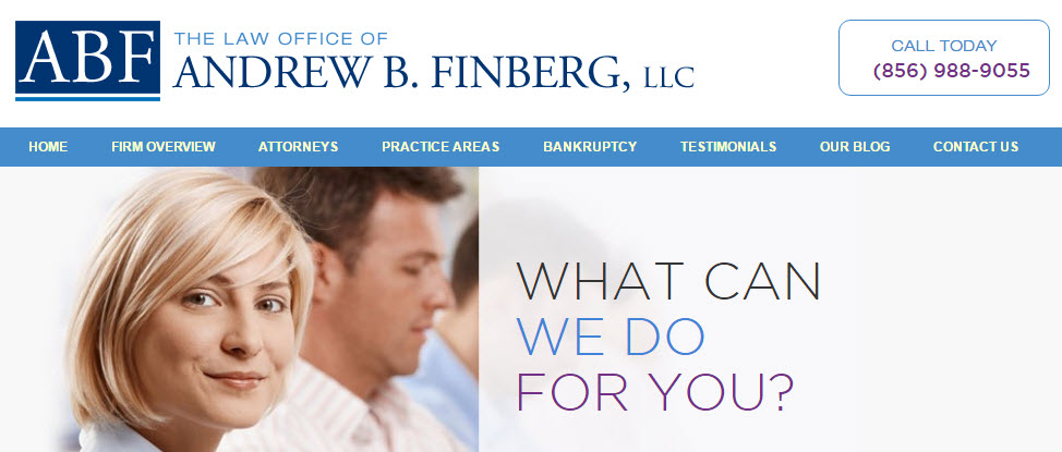 The Law Office of Andrew B. Finberg, LLC reviews | Bankruptcy Law at 525 New Jersey 73 - Marlton NJ