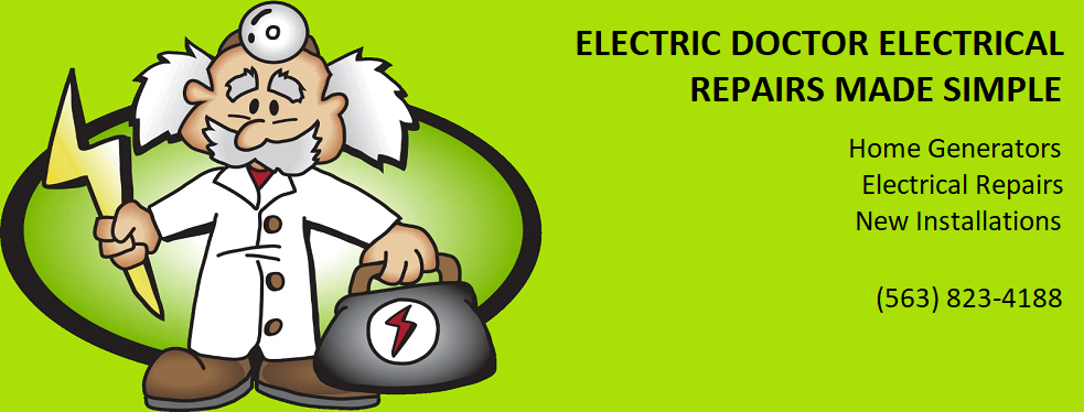 Electric Doctor - The 24 Hr Electrician reviews   Electricians at 1435 Brown St - Bettendorf IA