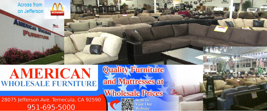 American Wholesale Furniture | Furniture Stores At 28075 Jefferson Ave    Temecula CA