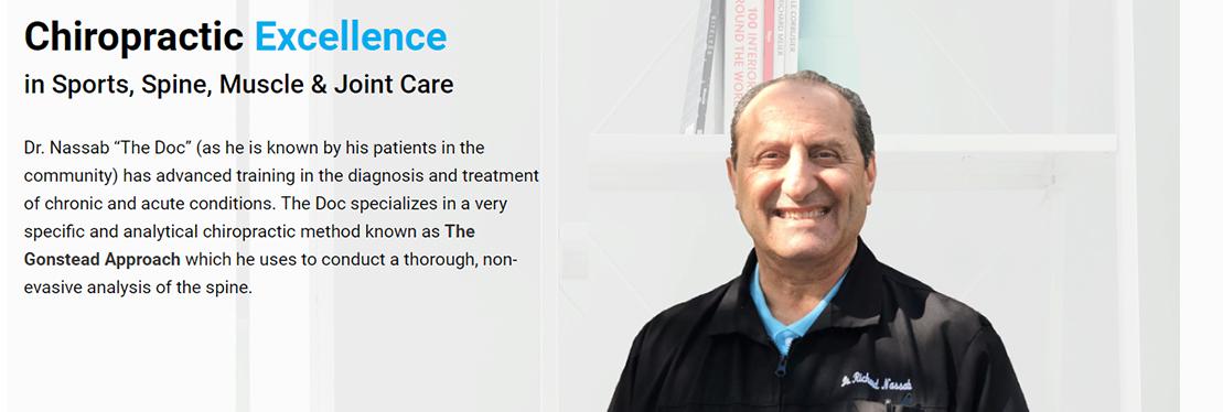 Richard G. Nassab,D.C. reviews | Chiropractors at 5820 Stoneridge Mall Rd - Pleasanton CA