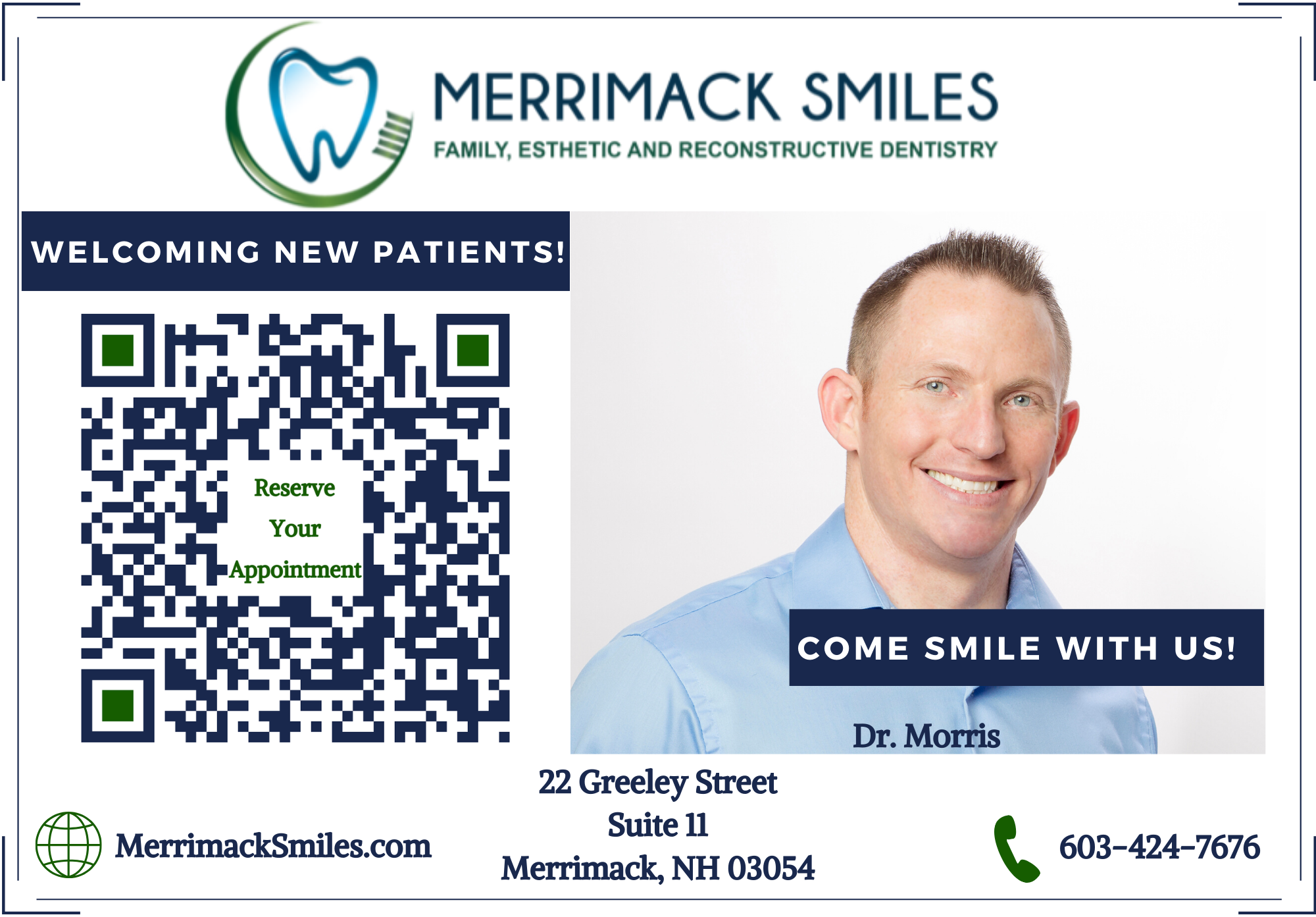 Merrimack Smiles reviews | Dentists at 22 Greeley Street - Merrimack NH
