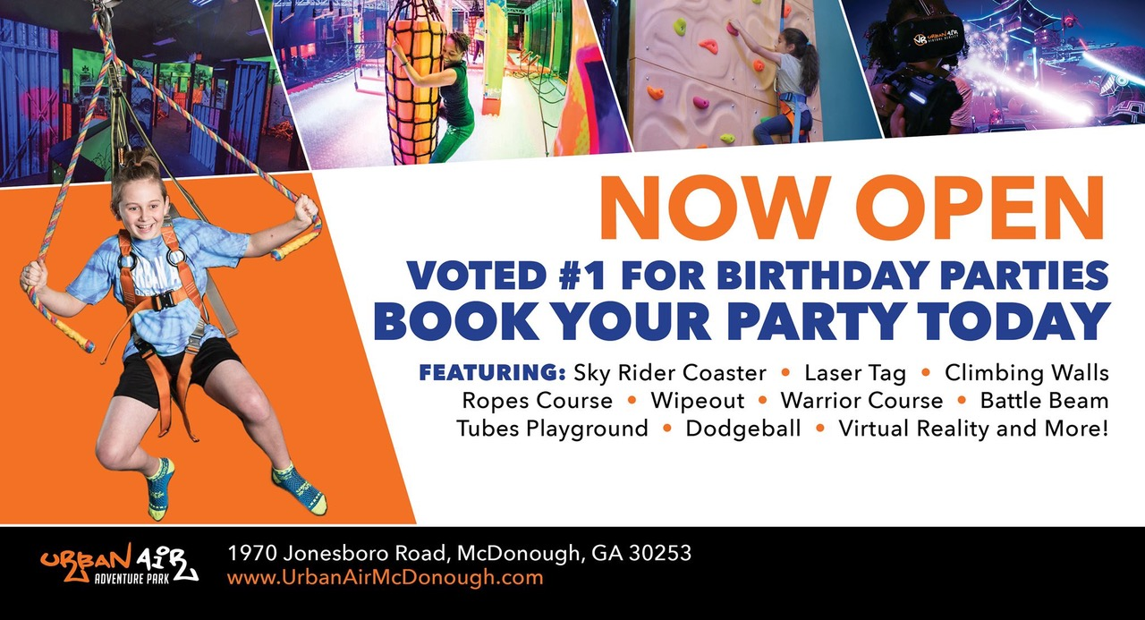 Urban Air Adventure Park (McDonough) reviews | Amusement Parks at 1970 Jonesboro Rd - McDonough GA