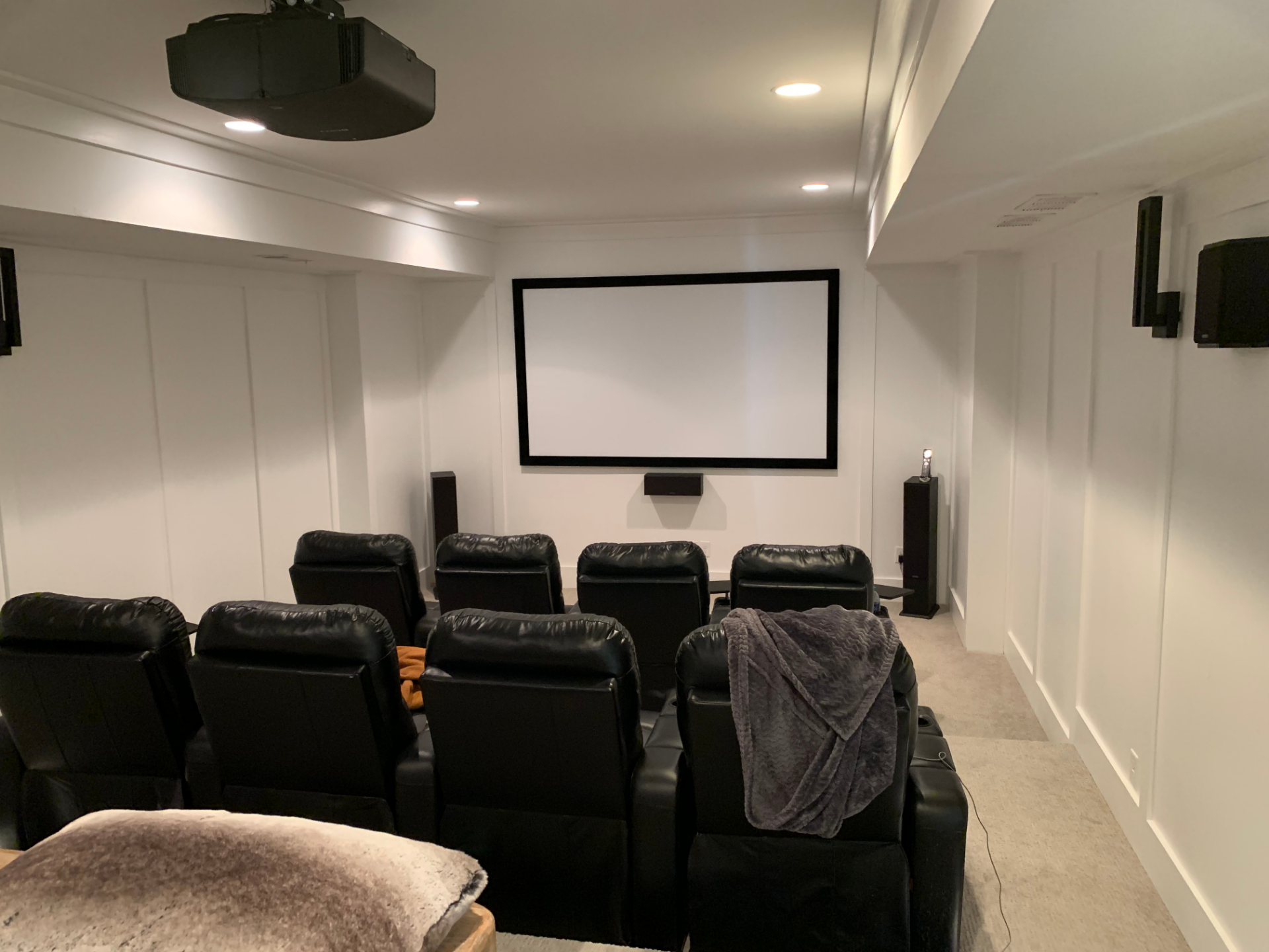 Audio Video Excellence reviews   Home Theatre Installation at 6020 Parkway North Drive - Cumming GA