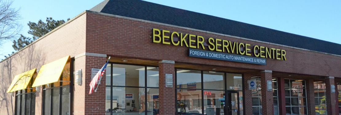 Becker Service Center reviews | Auto Repair at 1421 Plainfield-Naperville Rd - Naperville IL
