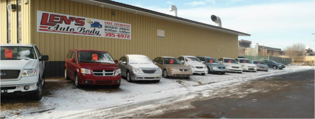 Len's Auto Body LLC reviews | Body Shops at 1901 N 4th St - Superior WI