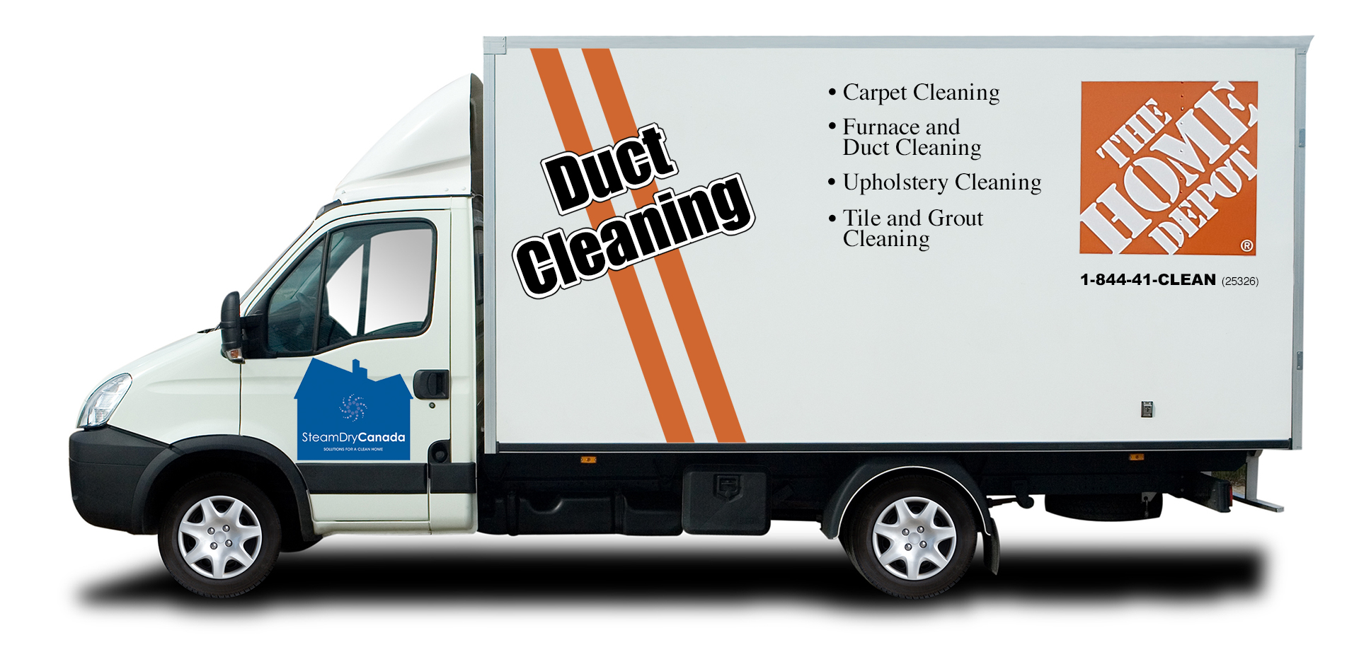 Home Depot Cleaning Services - Steam Dry Canada - Ottawa reviews   Air Duct Cleaning at 207 Bank St - Ottawa ON