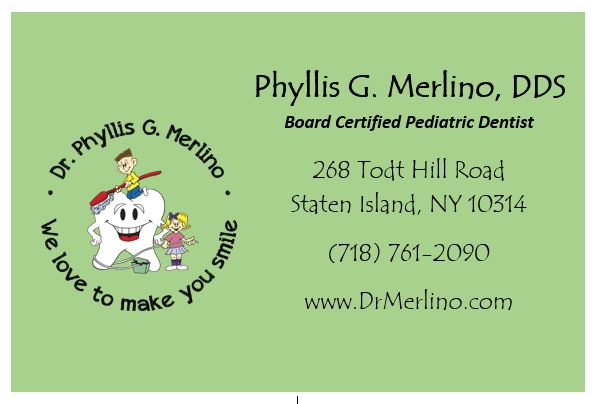 Phyllis G. Merlino, DDS: Todt Hill Pediatric Dentistry Reviews, Ratings   Pediatric Dentists near 268 Todt Hill Road , Staten Island NY
