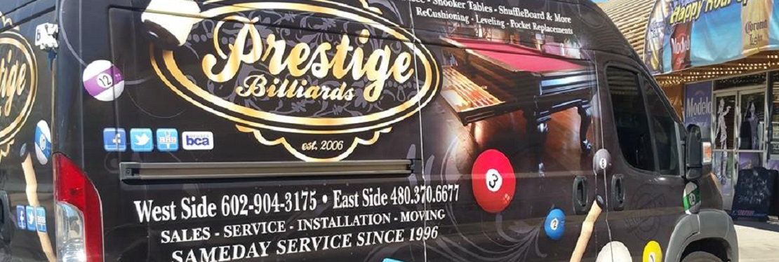 Prestige Billiards & Gamerooms reviews | Pool & Billiards at 15745 N Hayden Rd - Scottsdale AZ