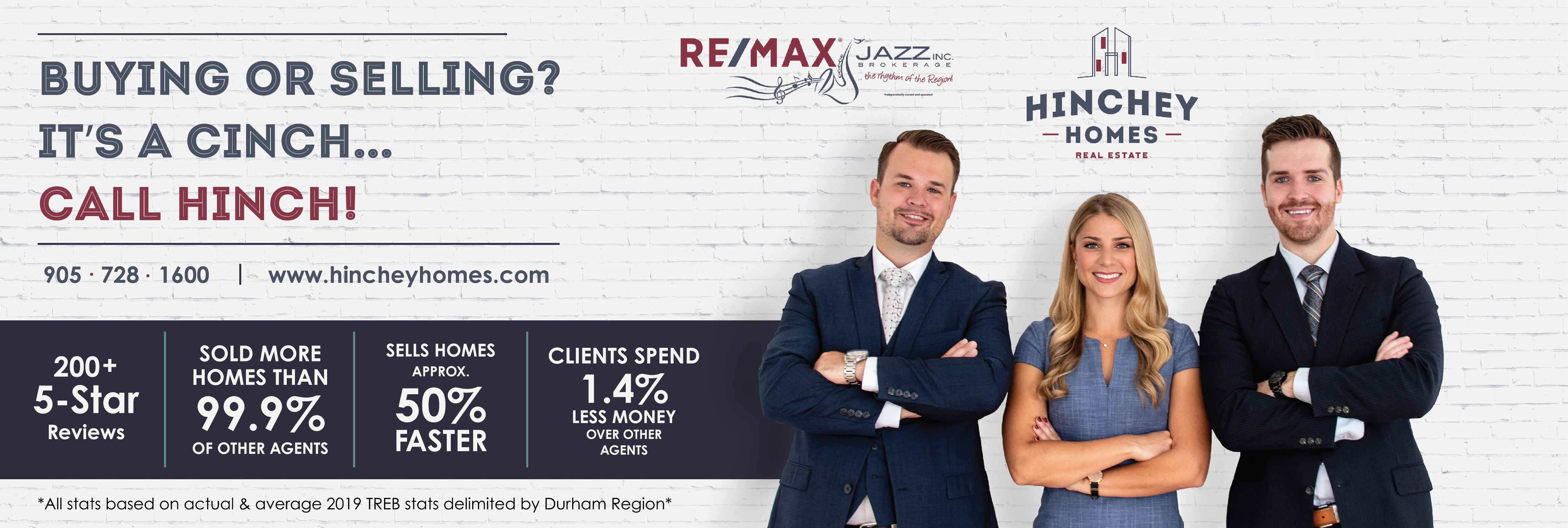 The Hinchey Homes Team - Re/Max Jazz reviews | Real Estate Services at 193 King Street East - Oshawa ON