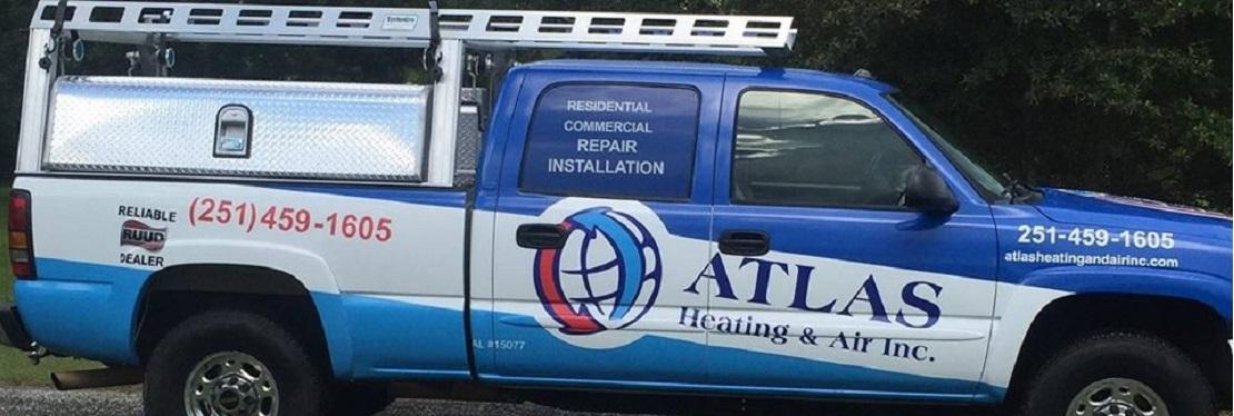 Atlas Heating & Air reviews | Heating & Air Conditioning/HVAC at 10210 Canyon Drive - Fairhope AL