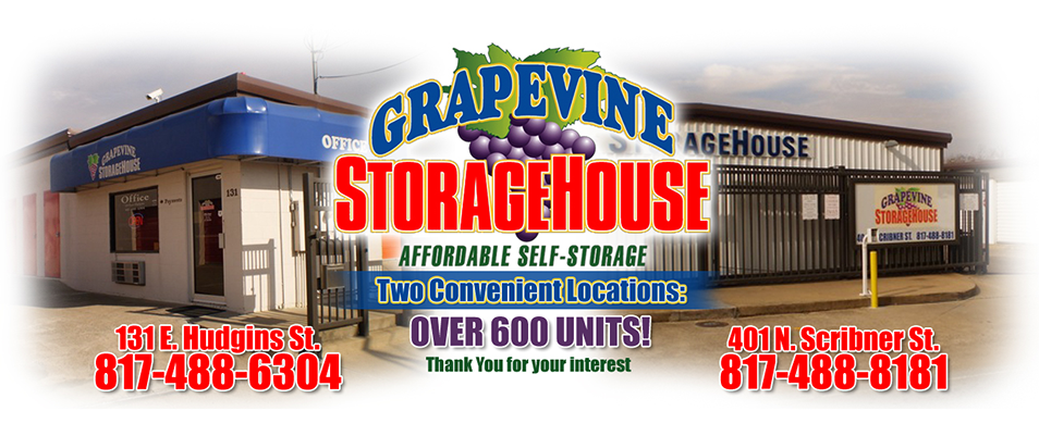 Grapevine StorageHouse reviews | Self Storage at 401 N Scribner St - Grapevine TX