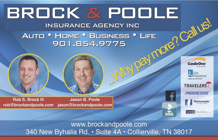 Brock and Poole Insurance Agency Inc reviews | Auto Insurance at 340 New Byhalia Road - Collierville TN