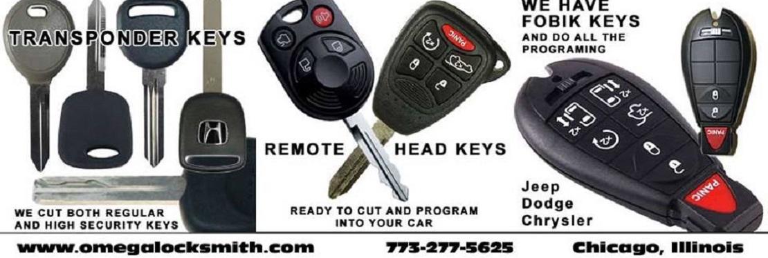 Omega Chicago Locksmith reviews | Keys & Locksmiths at 4346 W. 51st St. - Chicago IL