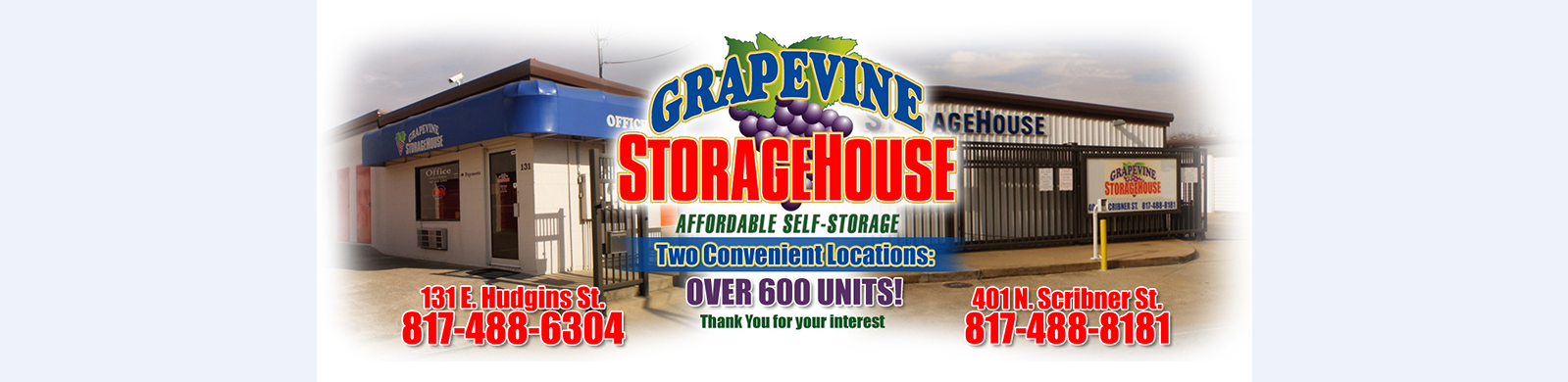Grapevine StorageHouse reviews | Self Storage at 131 E Hudgins St - Grapevine TX