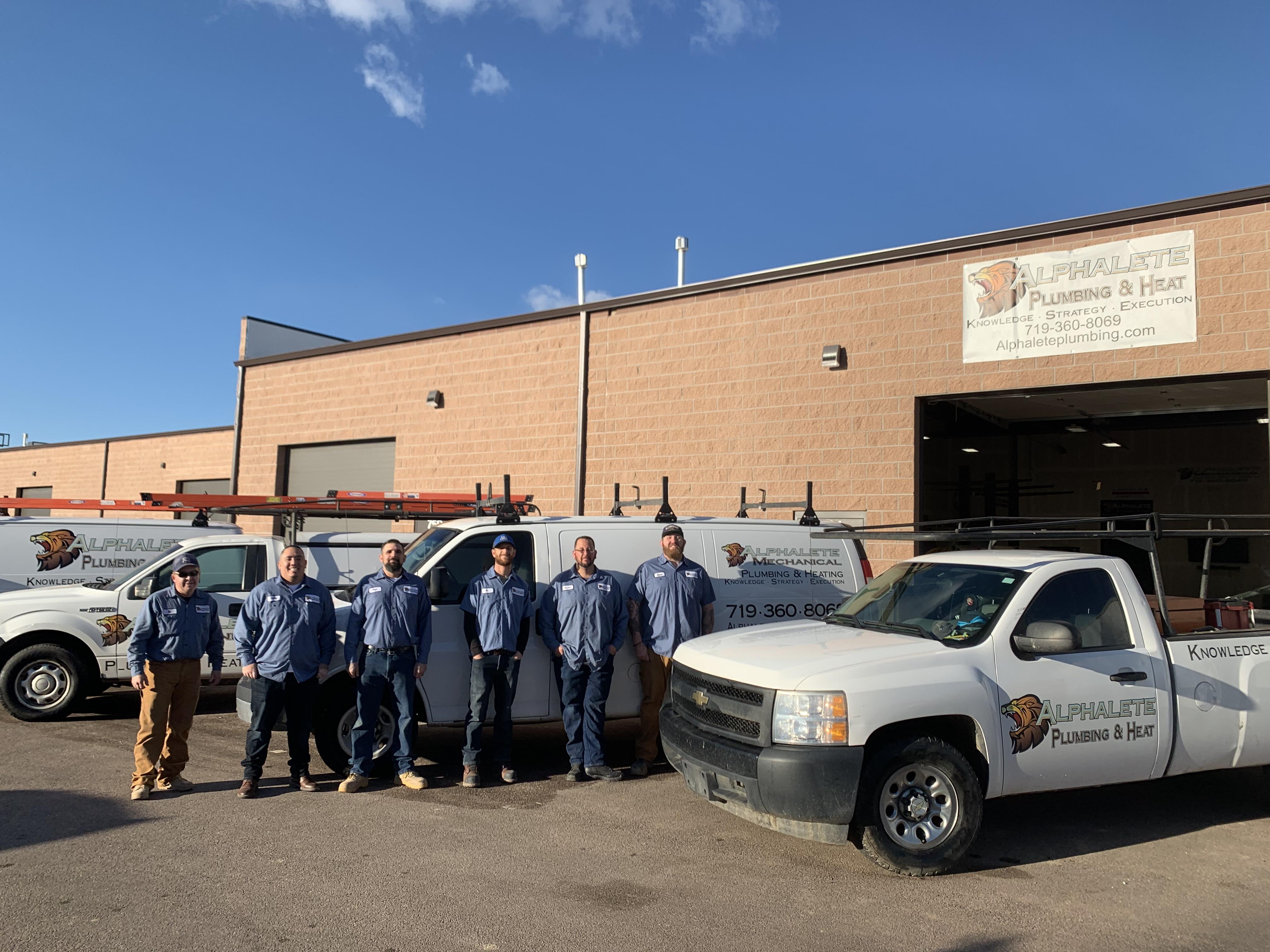 Alphalete Plumbing & Heat reviews | Plumbing at 761 Seedling Ct - Colorado Springs CO
