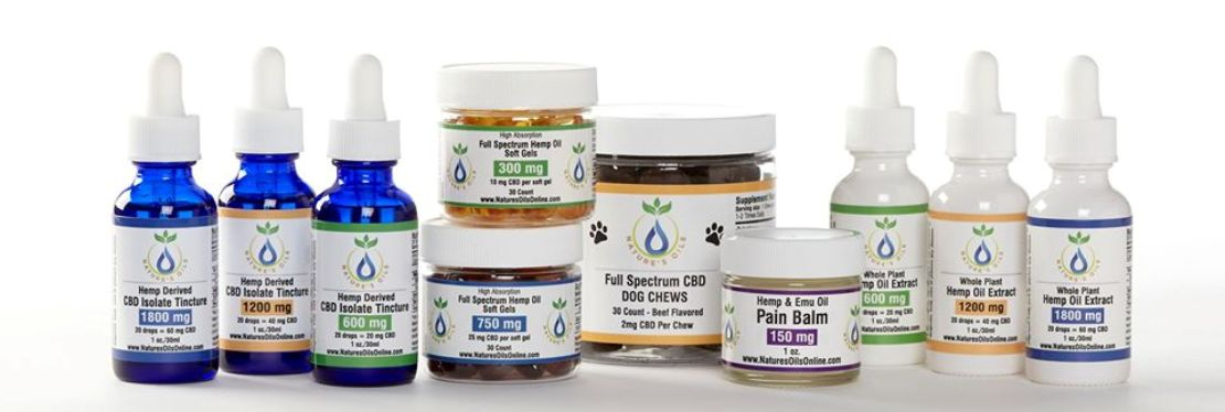 Nature's Oils - The CBD Experts reviews | Vitamins & Supplements at 11511 Walnut Ln - Forney TX