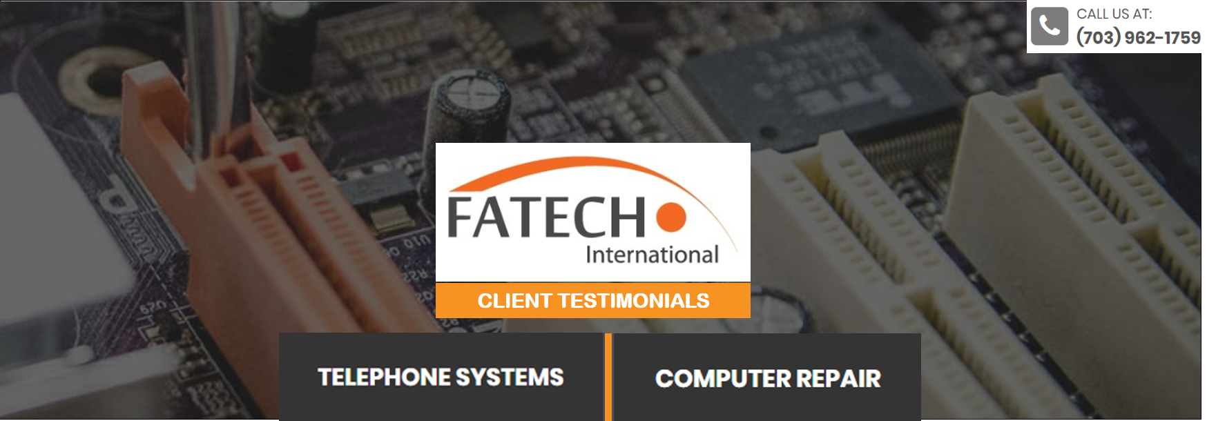 Fatech - Computer Sales & Repair, IT Services reviews | Computers at 585 Grove Street Suite G-10 parking in rear - Herndon VA