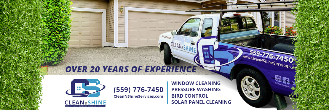 Clean And Shine Services Window Cleaning & Other Services reviews   Pressure Washers at 92 S Filbert Ave - Fresno CA
