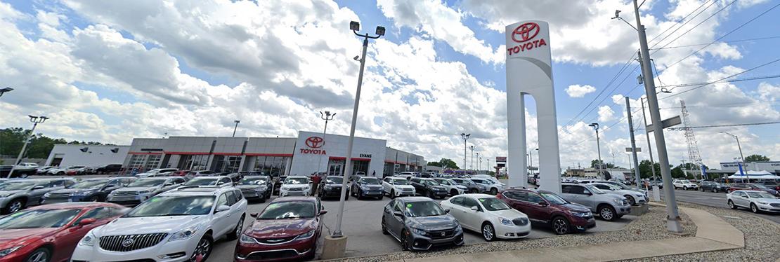 Evans Toyota reviews | Car Dealers at 515 W Coliseum Blvd - Fort Wayne IN