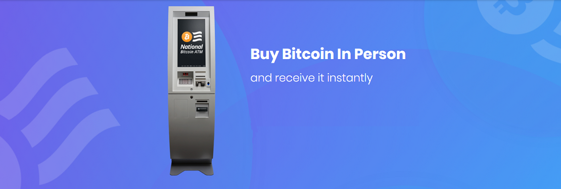 National Bitcoin ATM reviews   ATM at 75 Main St - Woburn MA