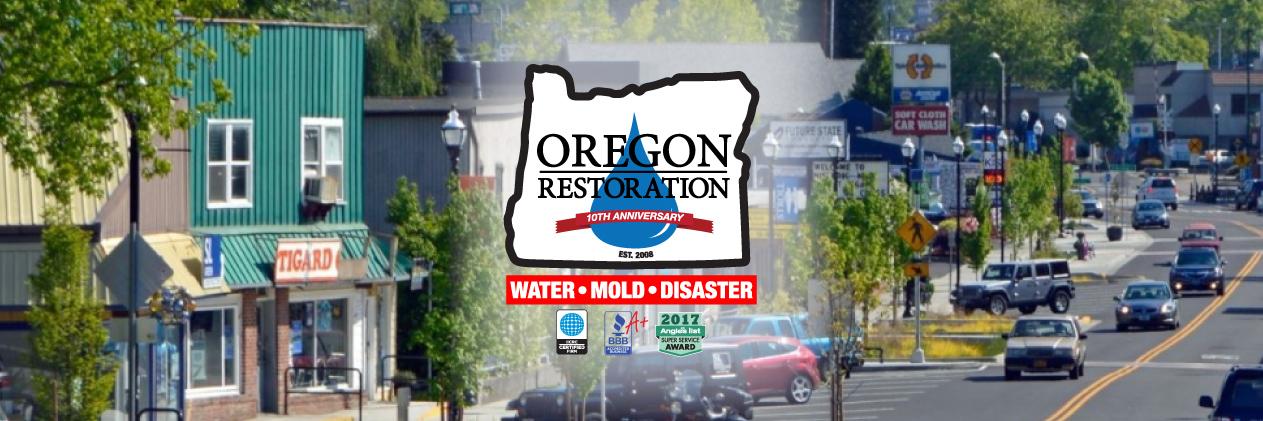 Oregon Restoration Co reviews | Contractors at 9350 SW Tigard St. - Tigard OR