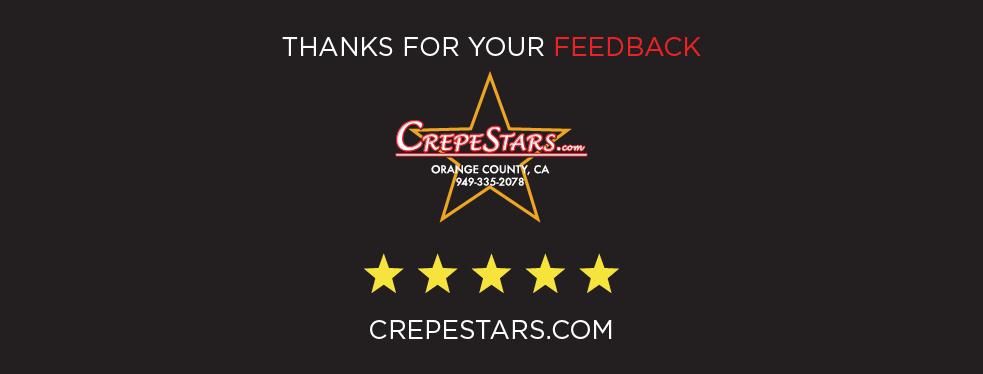 CrepeStars.com reviews   Caterers at