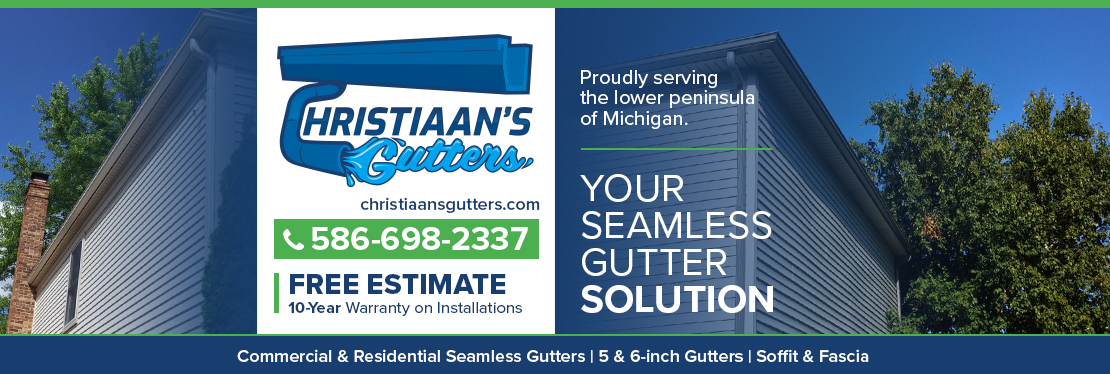 Christiaan's Gutters, LLC reviews | Siding at 2232 E 14 Mile Rd - Warren MI