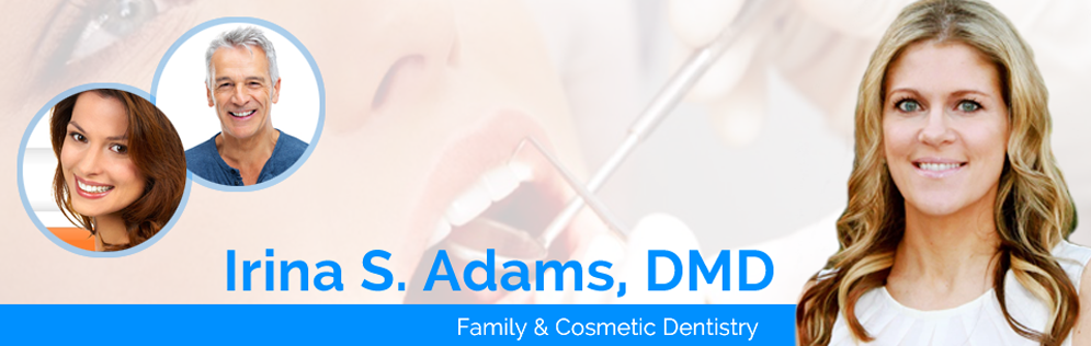 Irina S Adams, DMD reviews | Cosmetic Dentists at 1548 W Branch Street - Arroyo Grande CA