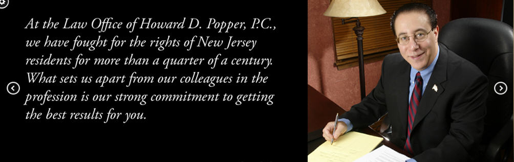 Howard D Popper, Attorney at Law reviews | Personal Injury Law at One Western Avenue - Morristown NJ