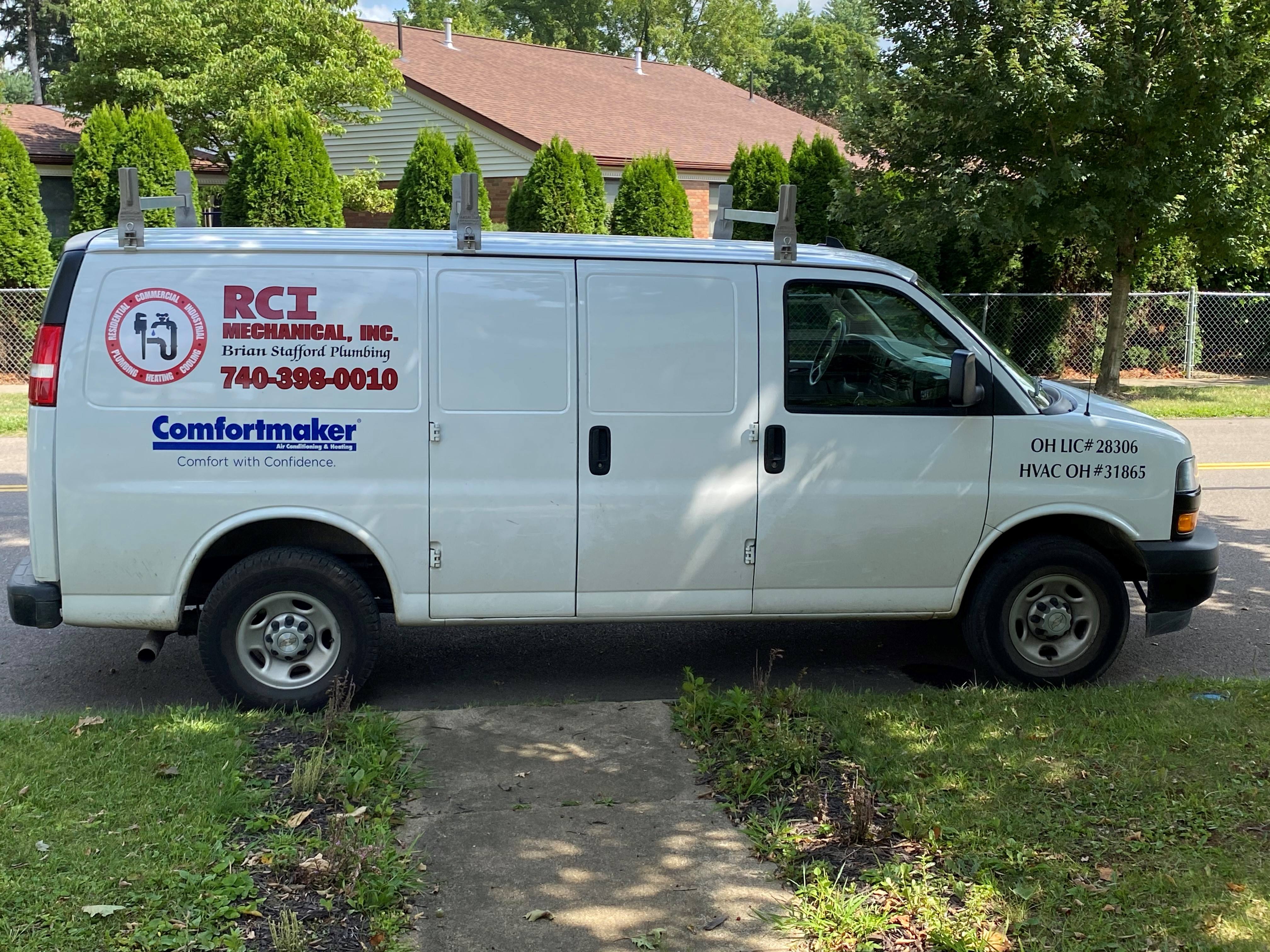 RCI Mechanical reviews | Heating & Air Conditioning/HVAC at Mount Vernon OH