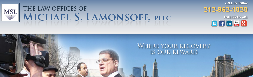 The Law Offices of Michael S. Lamonsoff reviews | Legal at 32 Old Slip - New York NY